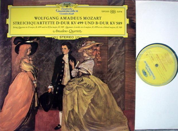 DGG / AMADEUS QT, - Mozart String Quartets K.499 & 589, NM!