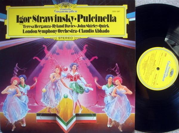 DG / ABBADO-LSO, - Stravinsky Pulcinella, NM!