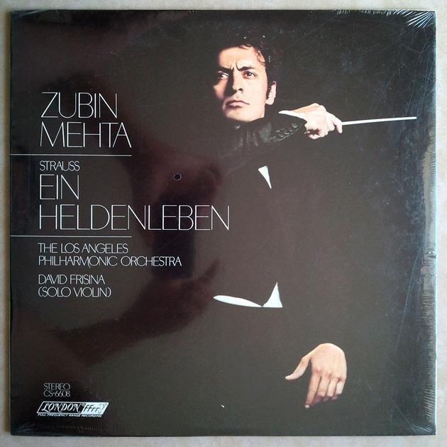 """Sealed LONDON ffrr   MEHTA/STRAUSS - Ein Heldenleben """"A Hero's Life"""""""