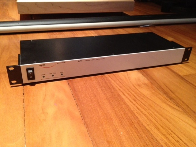 Weiss Audio AFI1 Firewire Interface