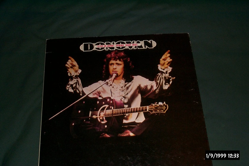 Donovan - Spring Tour 1973 sony japan only lp nm