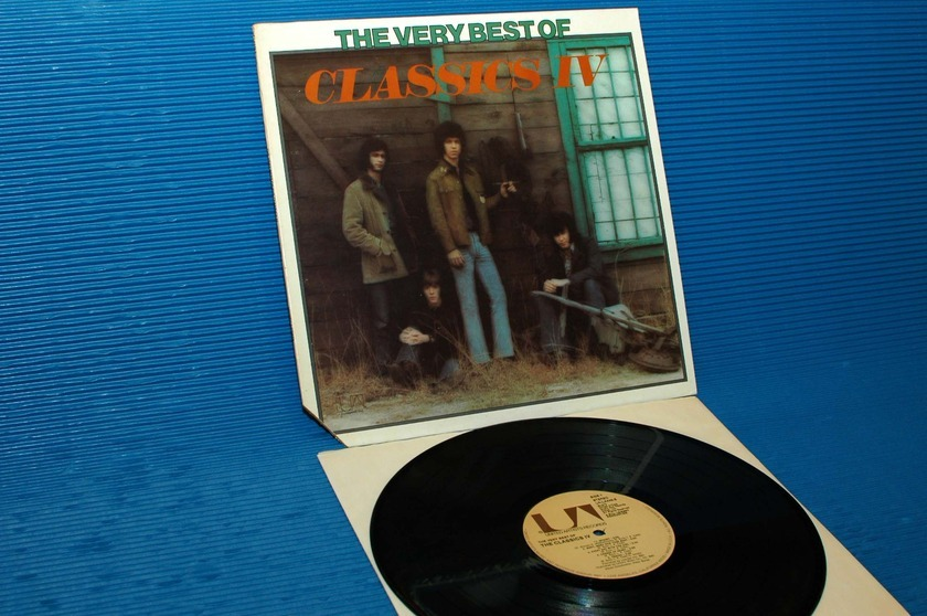"THE CLASSICS 4 -  - ""The Very Best Of"" -  United Artists 1975"