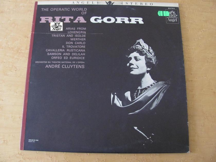 Arias from Lohengrin-Werther and more - The Operatic World of Rita Gorr, Angel Records Andre Cluytens, Orchestre du Theatre National L'Opera