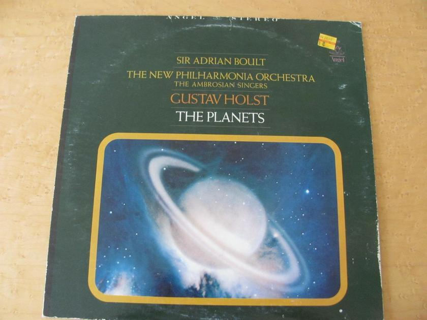Gustav Holst: The Planets - Sir Adrian Boult, Angel Records The New Philharmonia Orchestra, NM