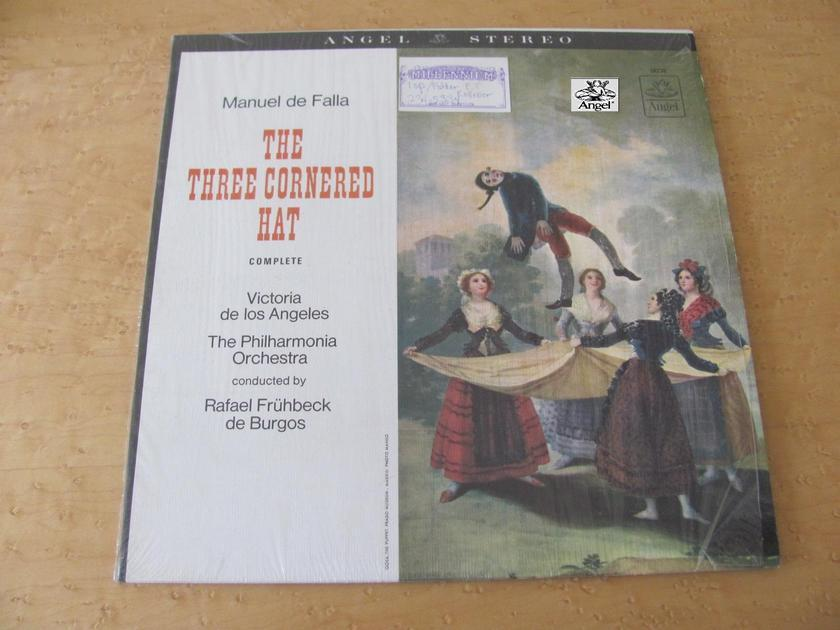 Manuel de Falla: The Three Cornered Hat, - Angel Records, Rafael Frubeck de Burgos,  The New Philharmonia Orchestra, NM