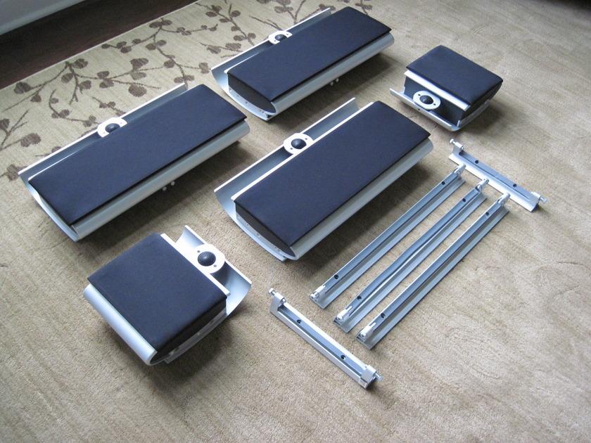 Vienna Acoustics Surround System Schonberg Series (aluminum) 5 Speakers