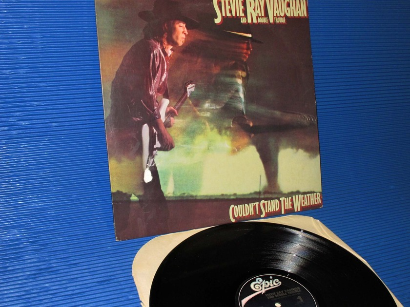 "STEVIE RAY VAUGHAN -  - ""Couldn't Stand The Weather"" -  Epic 1984 1st pressing"