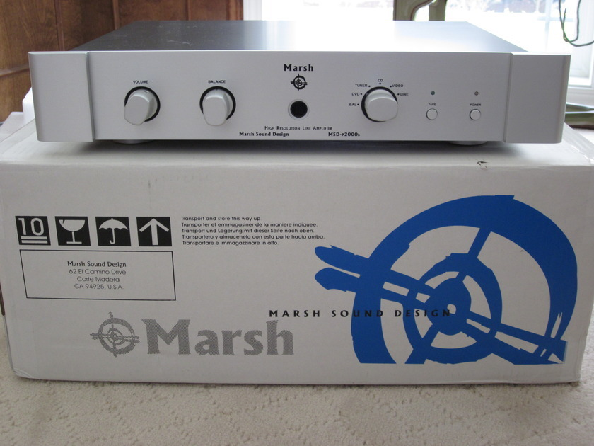 Marsh Sound Design P2000B Pre-amplifier