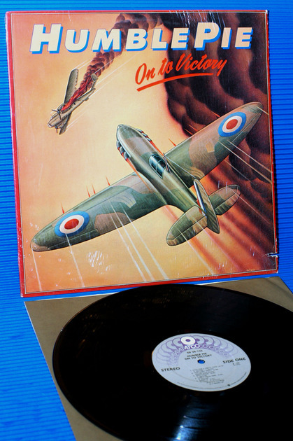 """HUMBLE PIE -  - """"On To Victory"""" -  ATCO 1980"""