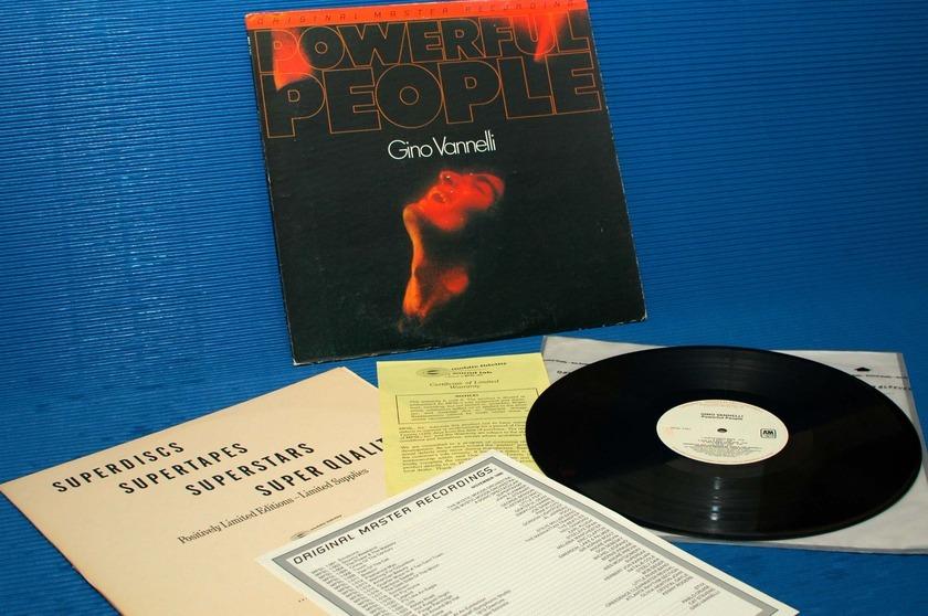 "GINO VANNELLI -  - ""Powerful People"" -  Mobile Fidelity/MFSL 1980"