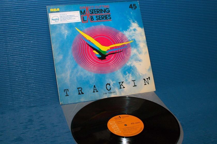 "LEW TABACKIN -  - ""Trackin'"" -  RCA Japan 45rpm D-D 1st pressing 1977"