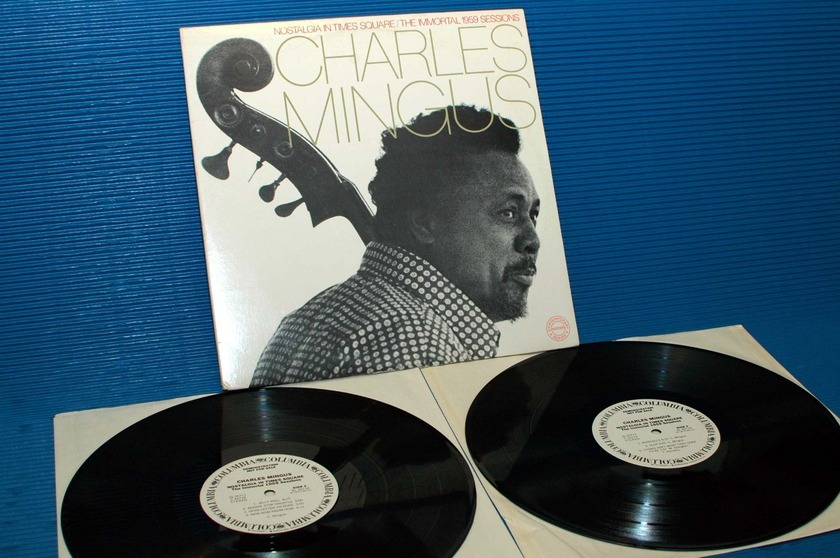"CHARLES MINGUS - - ""Nostalgia In Times Square"" -  CBS 'WLP' w/DJ timing sheet"