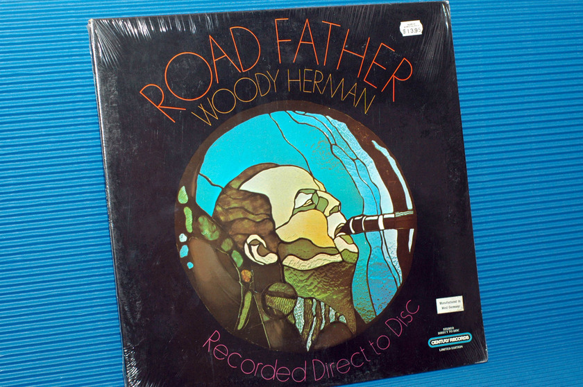 """WOODY HERMAN -  - """"Road Father"""" - Century Direct to Disk import 1979 sealed"""