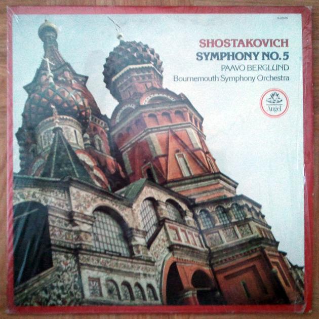 ANGEL   BERGLUND/SHOSTAKOVICH - Symphony No. 5 / NM