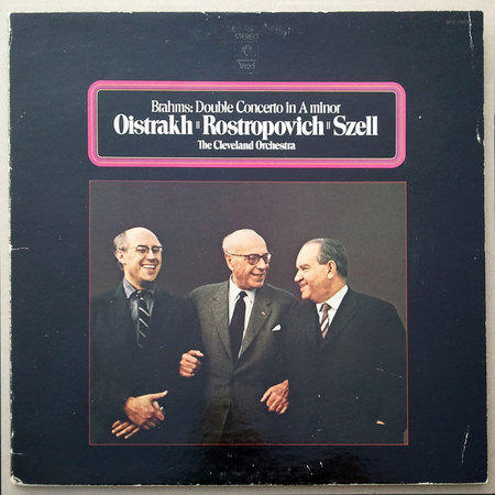 ANGEL | OISTRAKH/ROSTROPOVICH/BRAHMS - Double Concerto / NM