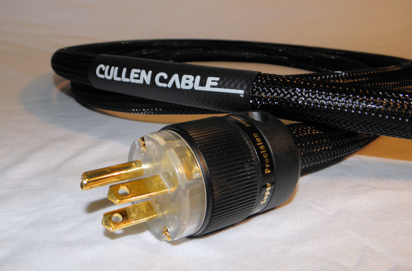 Cullen Cable 6 Foot  Gold Series Power Cable  Made in the USA!