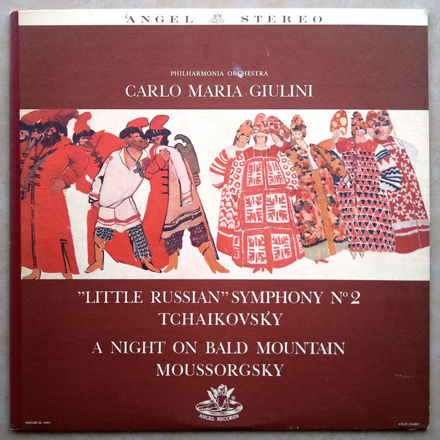 ANGEL blue | GIULINI/TCHAIKOVSKY - Symphony No. 2 / MOUSSORGSKY A Night on Bald Mountain / NM