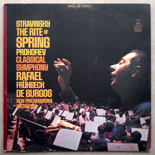 Angel Blue | BURGOS/STRAVINSKY - The Rite of Spring / PROKOFIEV Symphony No. 1 Classical / NM