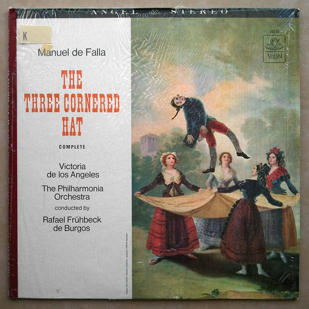 Angel Blue   BURGOS/FALLA - The Three Cornered Hat / NM