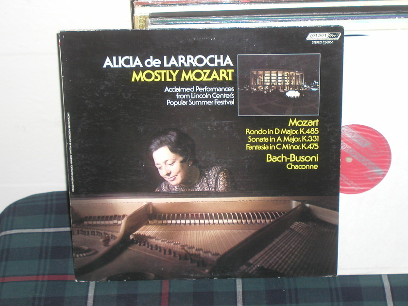 De Larrocha - Mozart London ffrr uk holland press