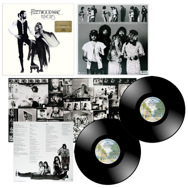Fleetwood Mac - Rumours 45rpm 2x180g vinyl pressed at Pallas MFG, Germany  Mint [Sealed]