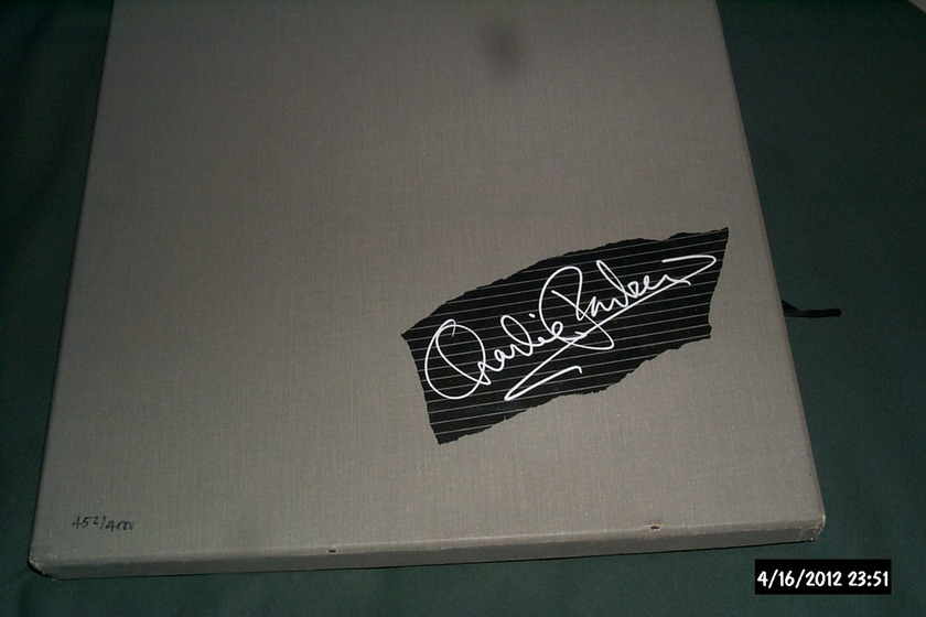 Charlie Parker - Warner Bros 6 Lp Box ltd 452/4000 very rare