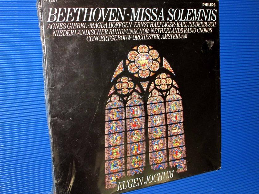 "BEETHOVEN/Jochum -  - ""Missa Solemnis"" -  Philips Import 1985 SEALED"