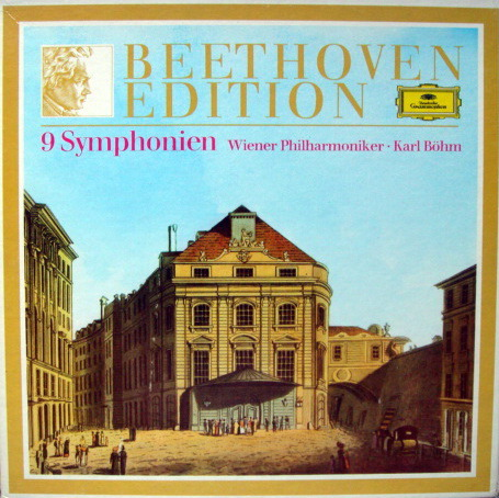 DG / BOHM/VPO, - Beethoven Complete 9 Symphonies, NM, 8LP Box Set!
