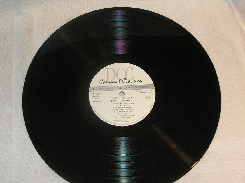 "Nat ""King"" Cole - Love is the Thing DCC Compact Classic Limited Edition"