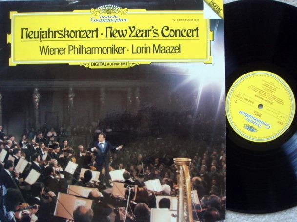 DG Digital / LORIN MAAZEL-VPO, - Vienna New Year's Concert (1980), NM!