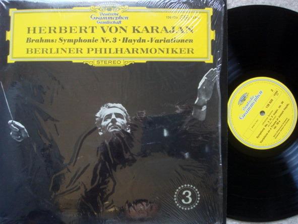 DGG / KARAJAN-BPO, - Brahms Symphony No.3, NM!
