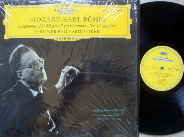 DGG / BOHM-BPO, - Mozart Symphonies No.40 & 41 Jupiter, NM!