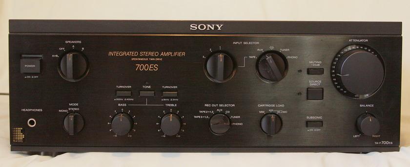 Sony ta-f700 ES Excellent plus condition