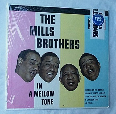 Mills Brothers LP-In a mellow tone- - orig 1966 SEALED album-superb vocal harmonies