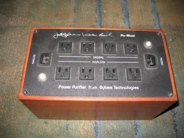 Bybee/Curl Pro Model Power Purifier