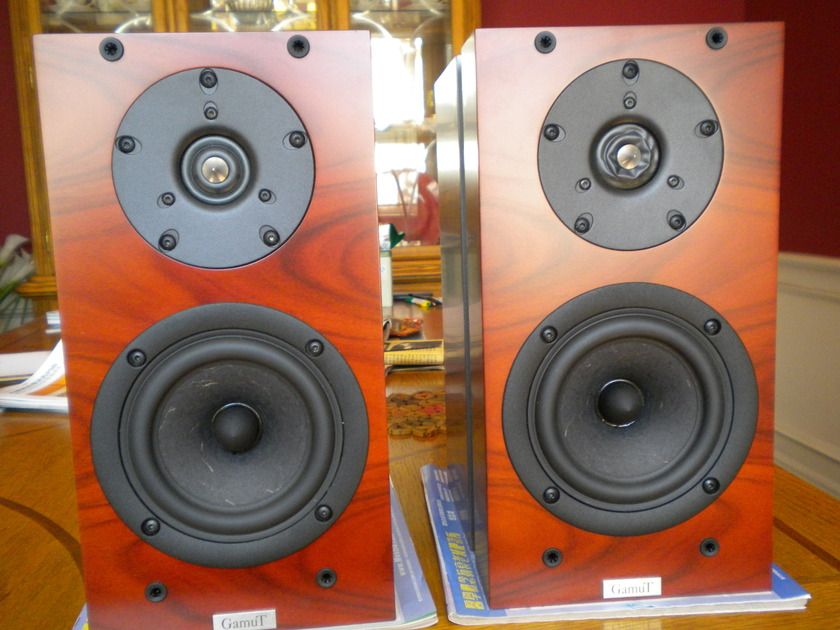 GamuT Phi 3 Bookshelf Speakers in Rosewood