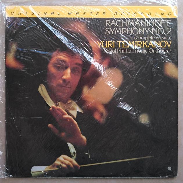 Sealed MFSL | YURI TEMIRKANOV/RACHMANINOFF - Symphony No. 2