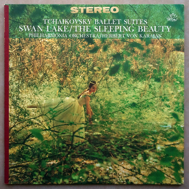 ANGEL Red | KARAJAN/TCHAIKOVSKY - Swan Lake & Sleeping Beauty / NM