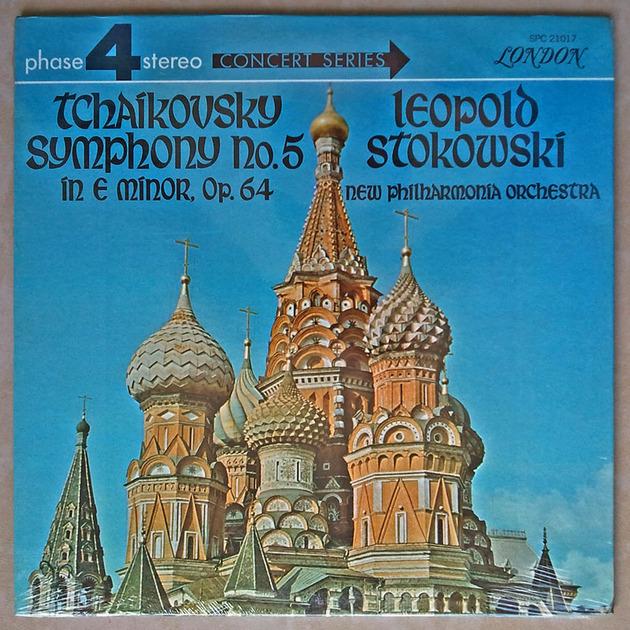 Sealed LONDON Phase 4 | STOKOWSKI/TCHAIKOVSKY - Symphony No. 5
