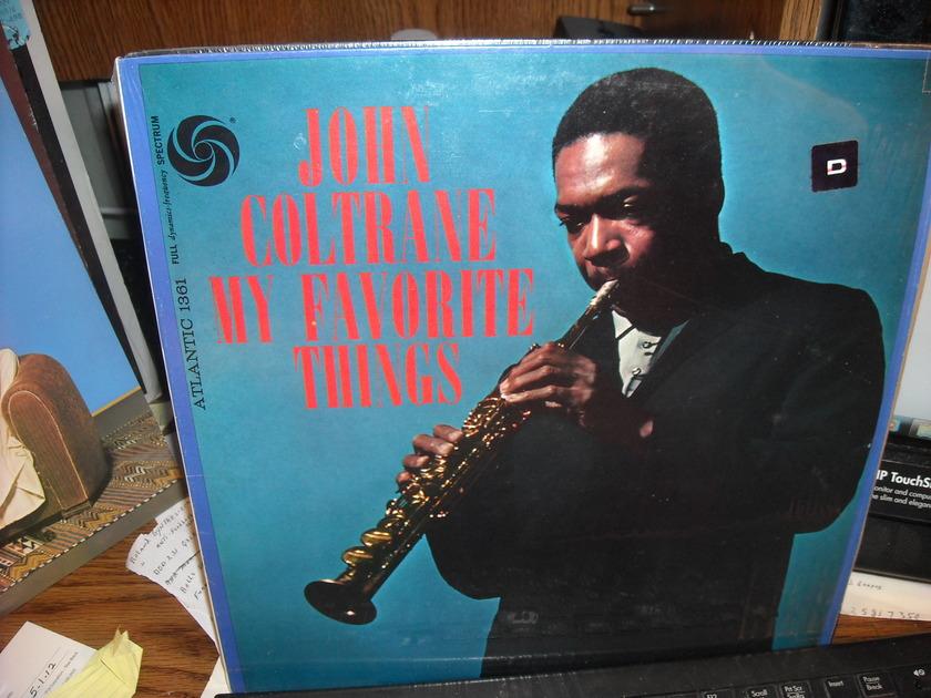 John Coltrane - My Favorite Things Atlantic LP (c)