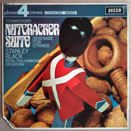DECCA | BLACK/TCHAIKOVSKY - Nutcracker Suite, Serenade for Strings / NM