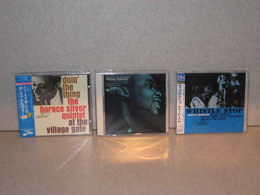 """Great Blue Note - Japanese Import Audiophile CDs """"Great Titles"""""""