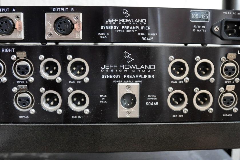 Jeff Rowland  Cadence/Synergy  Preamp Phono Stage
