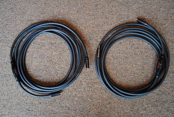 Transparent  MLP15 MM1 Tech RCA Interconnects