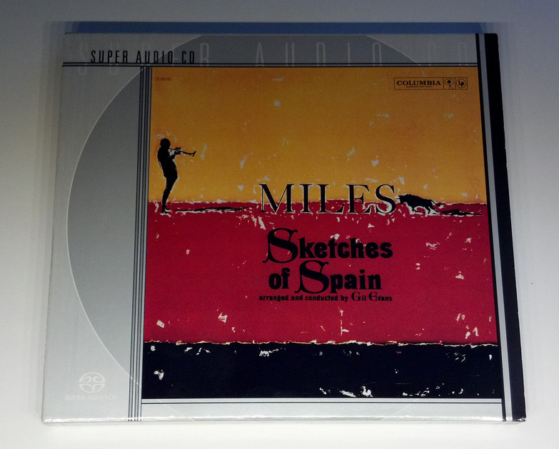 Miles DAvis - Sketches of Spain Arranged and conducted by Gil Evans SACD Stereo