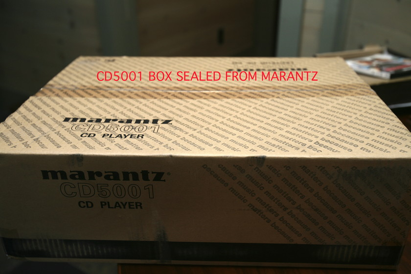 MARANTZ CD5001 SUPER AUDIO CD PLAYER