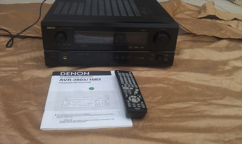 Denon AVR-3803 Surround Receiver