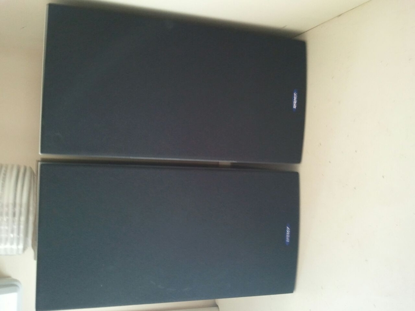 Energy C-3 Bookshelf Speakers in Black Ash