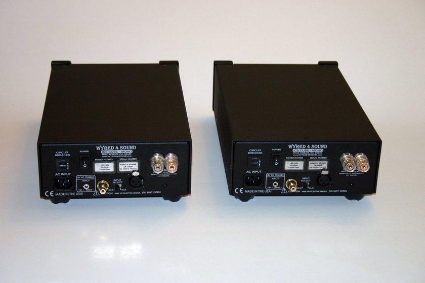 Wyred For Sound  SX-1000 monoblocks