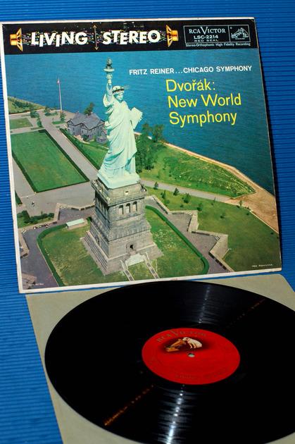 "DVORAK/Reiner -  - ""New World Symphony"" -  RCA 'Shaded Dog' 1959 1S/1S"